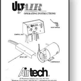 Airtech Ultair Powder System Installation Manual | Other Files | Documents and Forms
