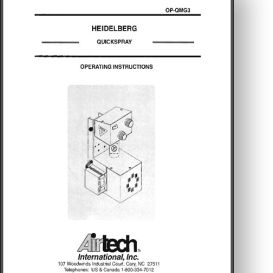 airtech ultair spray system operator's manual