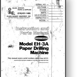 challenge eh-3a paper drill eh3a manual