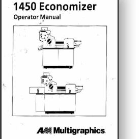 multi 1450 / 1650 operator's and parts manual