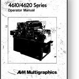 multi 4610 / 4620 operator's manual