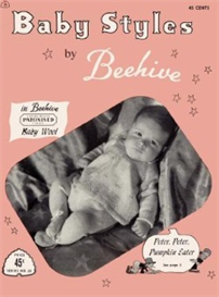 baby styles by beehive - crochet pattern ebook