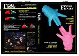 "finger fitness ""the complete hand workout"" video part a & b"