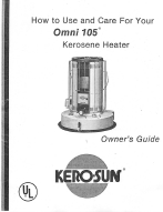 Kero-Sun Omni 105 Kerosene Heater Owner's Guide | Other Files | Documents and Forms