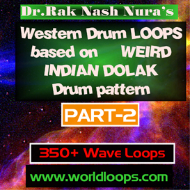 western drums in werid indian dolak pattern - part-2