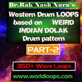 Western Drums in WERID INDIAN DOLAK Pattern - Part-2 | Music | Soundbanks