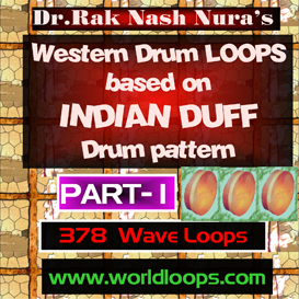 western drums with dangerous indian duff style - part -1