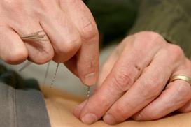 needle manipulation technique