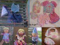cabbage patch doll clothes sewing patterns