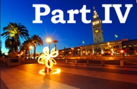 poi fire dancing lesson: beginner transitions, part iv