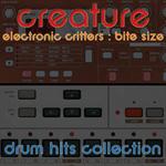 Electronic Critters Bite Size : Drum Hits | Music | Soundbanks