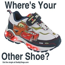where's your other shoe?