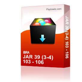 Jar 39 (3-4) 103 - 106 | Other Files | Everything Else
