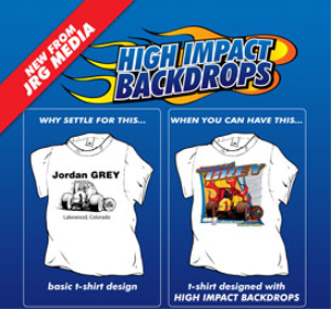 high impact back drops series 2, designs 11-20