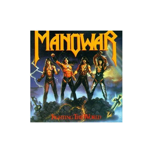 First Additional product image for - MANOWAR Fighting The World (1987) (ATCO) 320 Kbps MP3 ALBUM