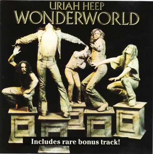 First Additional product image for - URIAH HEEP Wonderworld (1974) (ROADRACER RECORDS) (1 RARE BONUS TRACK) 320 Kbps MP3 ALBUM