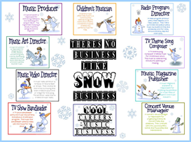 snow business bulletin board kit