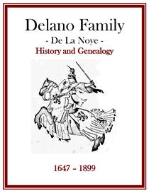 Delano Family History and Genealogy | eBooks | History