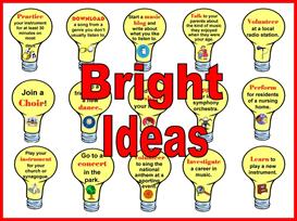 bright ideas bulletin board kit