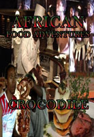 african food adventures  crocodile