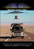exploring horizons rhythm of the tides - bay of fundy nova scotia, canada
