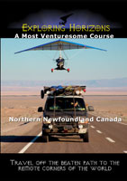 exploring horizons a most venturesome course - northern newfoundland canada