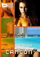 bikini destinations  spring break cancun