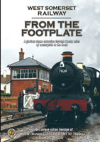 the west somerset railway from the footplate