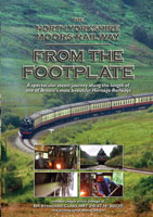 the north yorkshire moors railway from the footplate