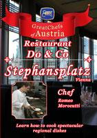 great chefs of austria chef romeo morocutti vienna restaurant do & co stephansplatz