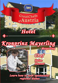 Great Chefs of Austria Chef Heinz Hanner Mayerling Hotel Kronprinz-Mayerling | Movies and Videos | Action
