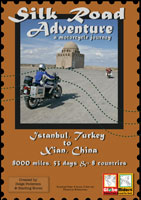 globeriders  silk road adventure a motorcycle journey istanbul, turkey to xian, china