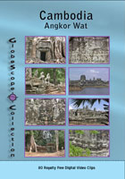 stock footage collections  cambodia - angkor wat royalty free stock footage