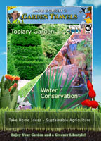 garden travels  topiary garden/ water conservation