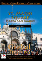 global treasures  saint mark's square piazza san marco venice, italy