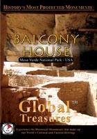 global treasures  balcony house mesa verde national park, colorado