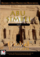 global treasures  abu simbel egypt