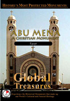 global treasures  abu mena a christian monument egypt