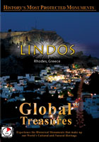 global treasures  lindos rhodes, greece