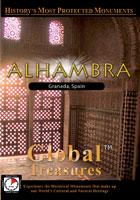 global treasures  alhambra granada andalucia, spain