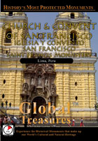 Global Treasures  CHURCH AND CONVENT OF SAN FRANCISCO Saint Francis Monastery Lima, Peru | Movies and Videos | Action