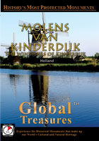 global treasures  molens van kinderdijk the windmills of kinderdijk, holland