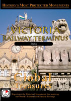 global treasures  victoria railway terminus india