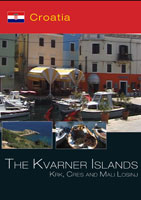the kvarner islands krk, cres and mali losinj