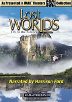 imax life in the balance lost worlds hosted by harrison ford