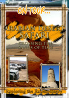 on tour...  arabian desert safari crossing the sands of time