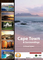 cape town & surroundings a visual safari