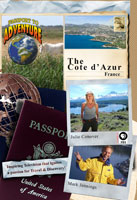 """Passport to Adventure  The """"Cote d'Azur,"""" France 