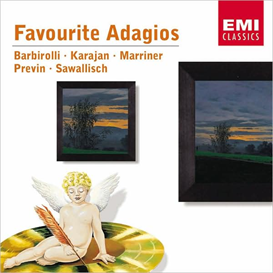 favourite adagios barbirolli karajan marriner previn sawallisch (2002) (emi classics) 320 kbps mp3 album