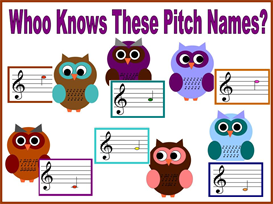 whoo knows these pitch names bulletin board kit